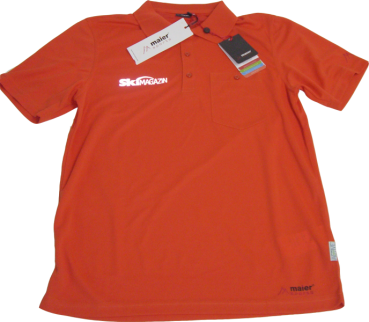 SkiMAGAZIN Maier Sports Sweatshirt, Orange